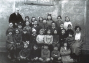 mr-bevan-and-class-of-1924-jimmy-smith-2nd-row-from-front-by-teacher